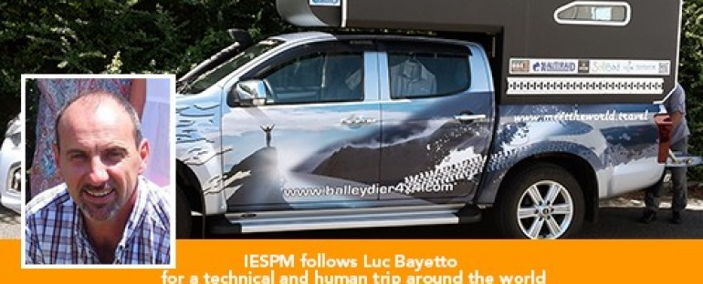 IESPM accompanies Luc Bayetto for a world tour