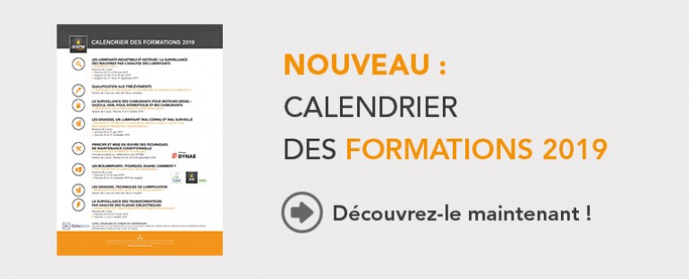 Formations : calendrier 2019