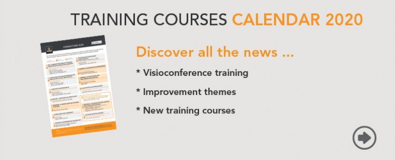 Training courses calendar 2020